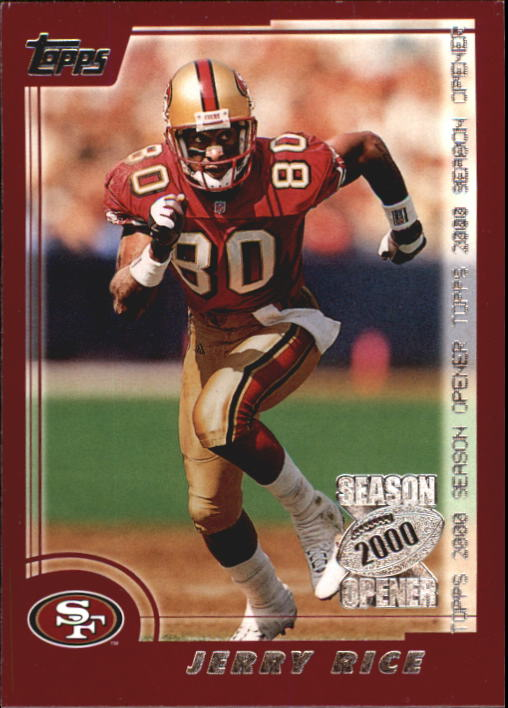 2000 Topps Season Opener #7 Jerry Rice