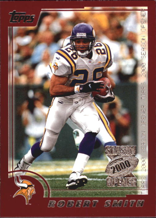 2000 Topps Season Opener #17 Robert Smith
