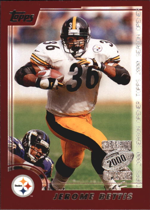 2000 Topps Season Opener #44 Jerome Bettis