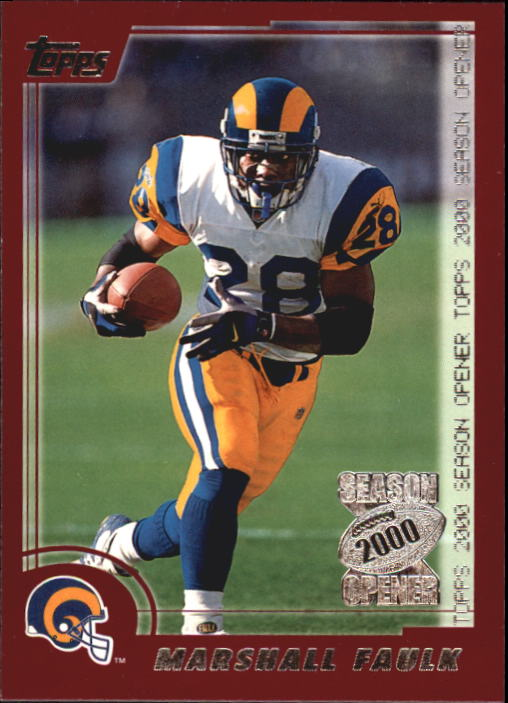 2000 Topps Season Opener #67 Marshall Faulk