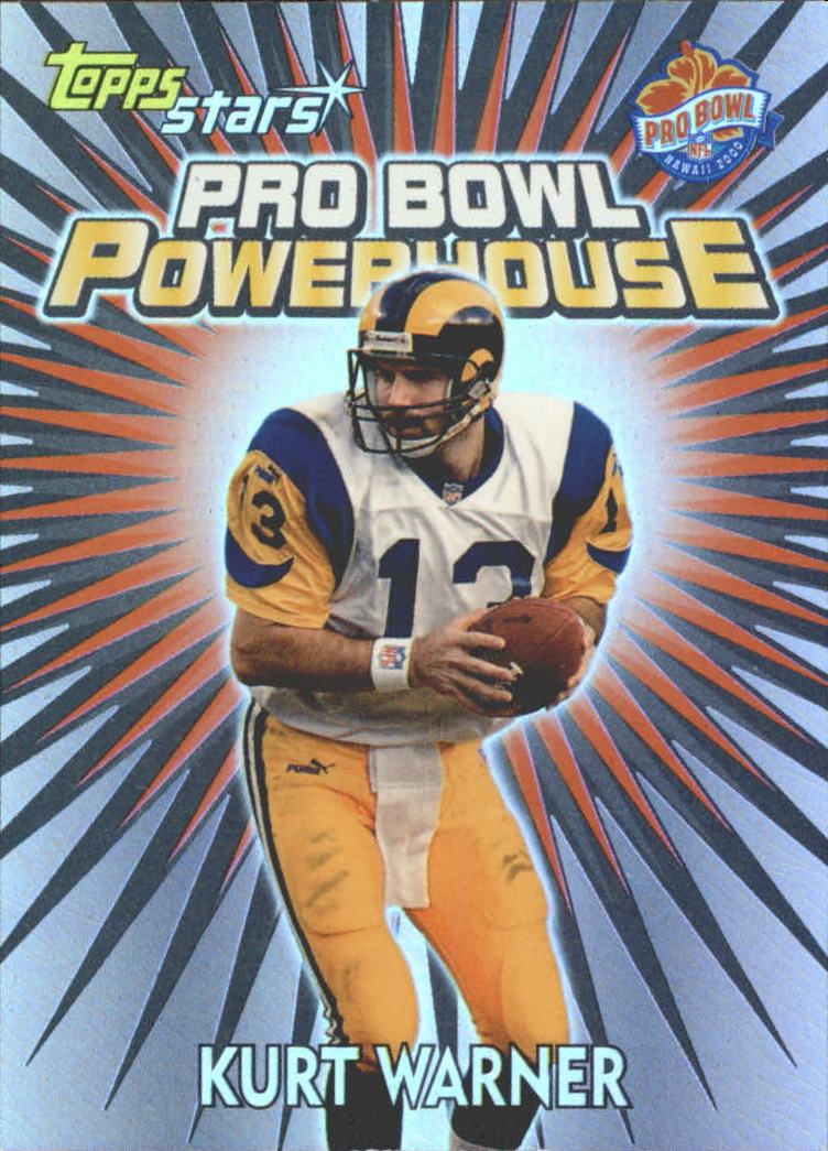 2000 Topps Stars Pro Bowl Powerhouse #PB1 Kurt Warner