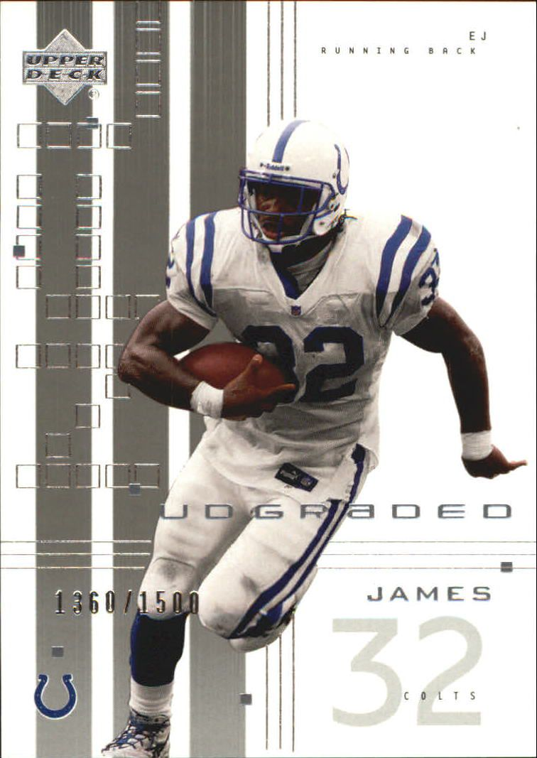 2000 UD Graded #34 Edgerrin James