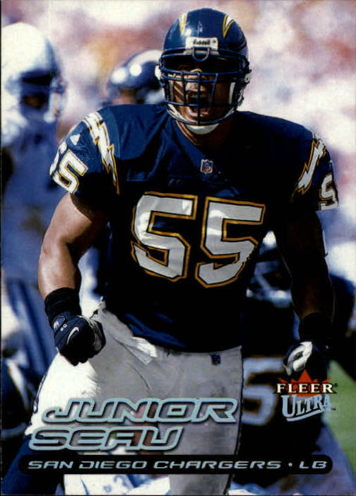 2000 Ultra #17 Junior Seau