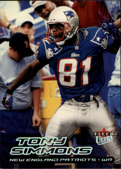 2000 Ultra #27 Tony Simmons