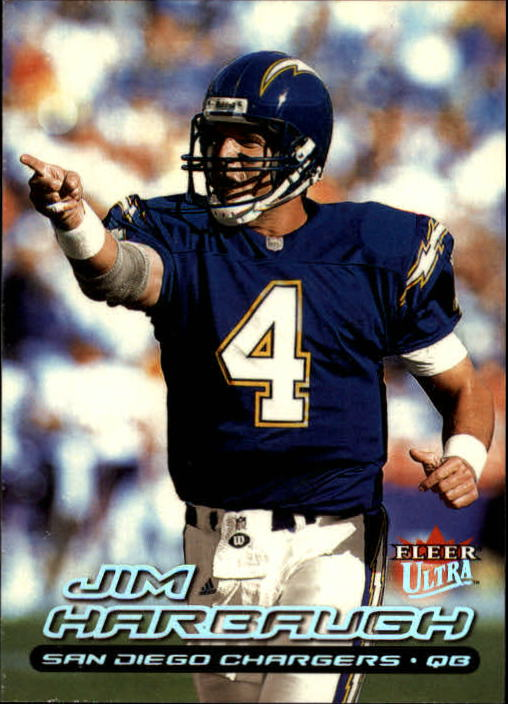 2000 Ultra #44 Jim Harbaugh