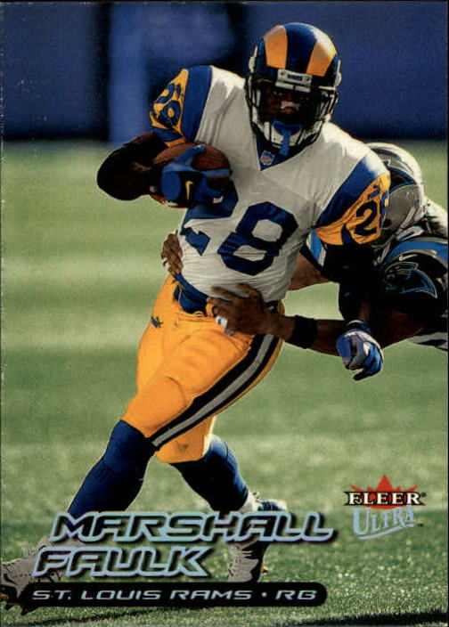 2000 Ultra #50 Marshall Faulk