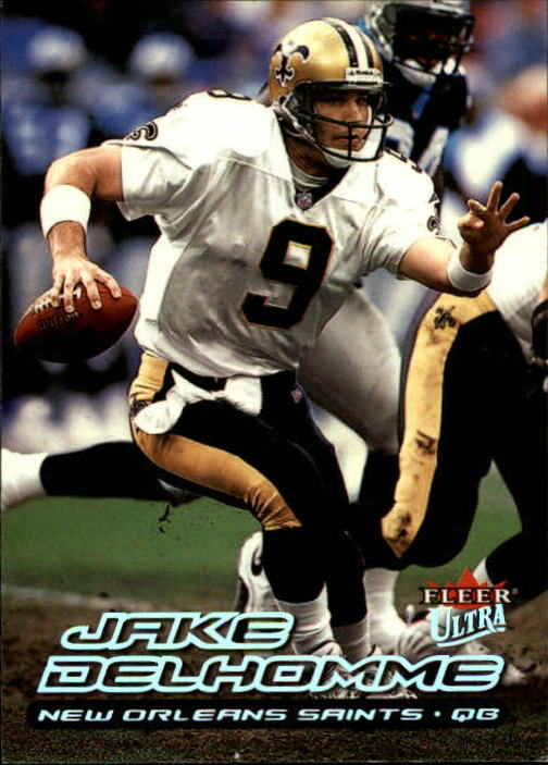 2000 Ultra #112 Jake Delhomme RC