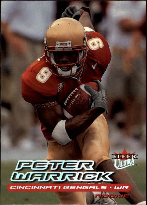 2000 Ultra #221 Peter Warrick RC
