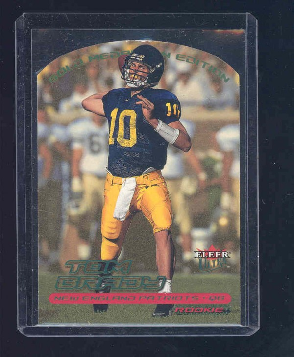 2000 Ultra Gold Medallion #234 Tom Brady