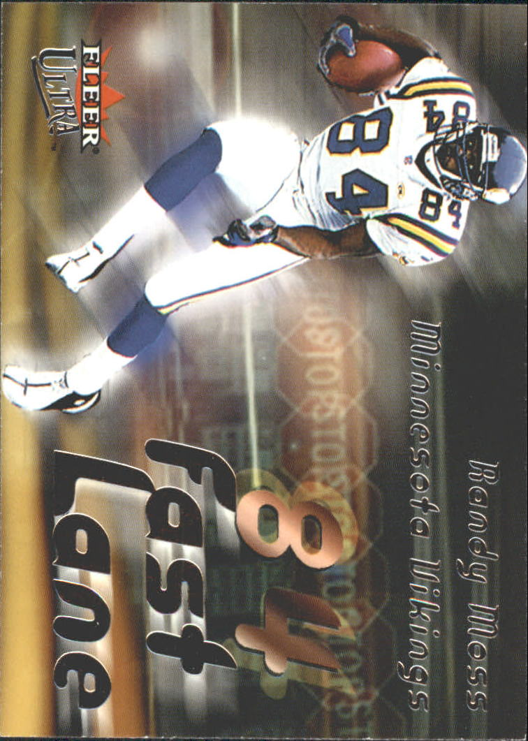 2000 Ultra Fast Lane #9 Randy Moss