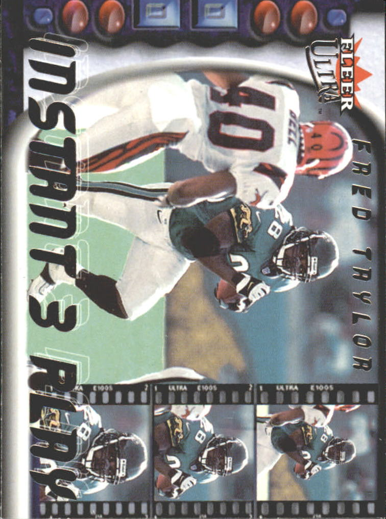 2000 Ultra Instant Three Play #4 Fred Taylor