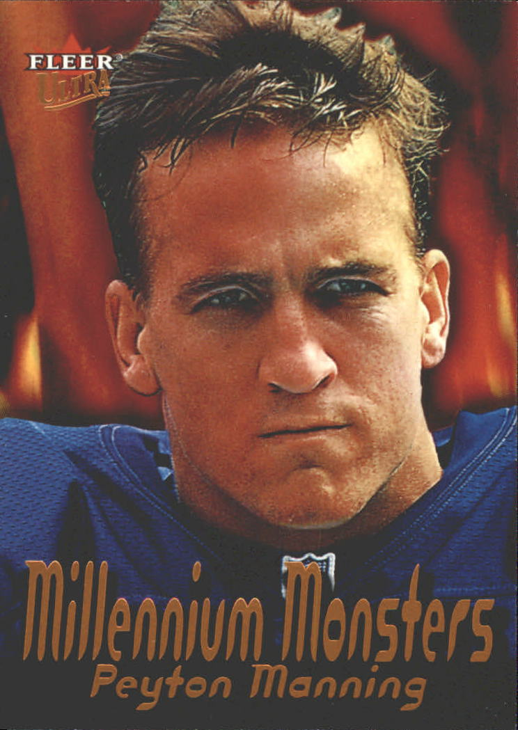 2000 Ultra Millennium Monsters #5 Peyton Manning