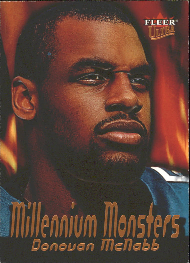2000 Ultra Millennium Monsters #10 Donovan McNabb