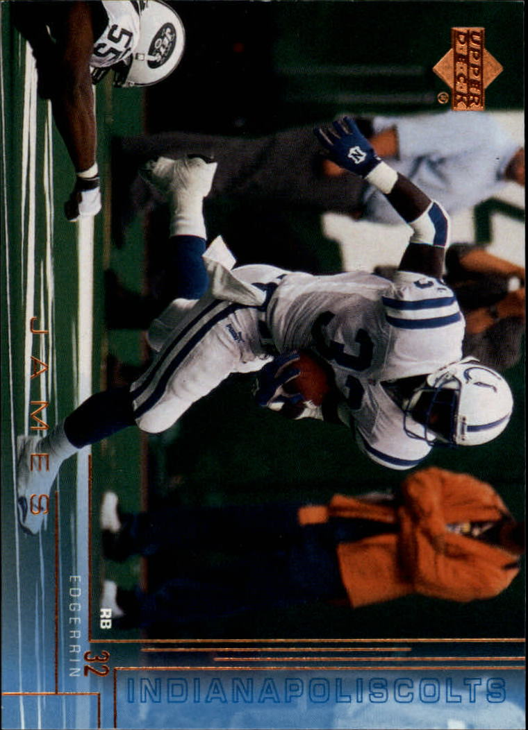2000 Upper Deck #89 Edgerrin James