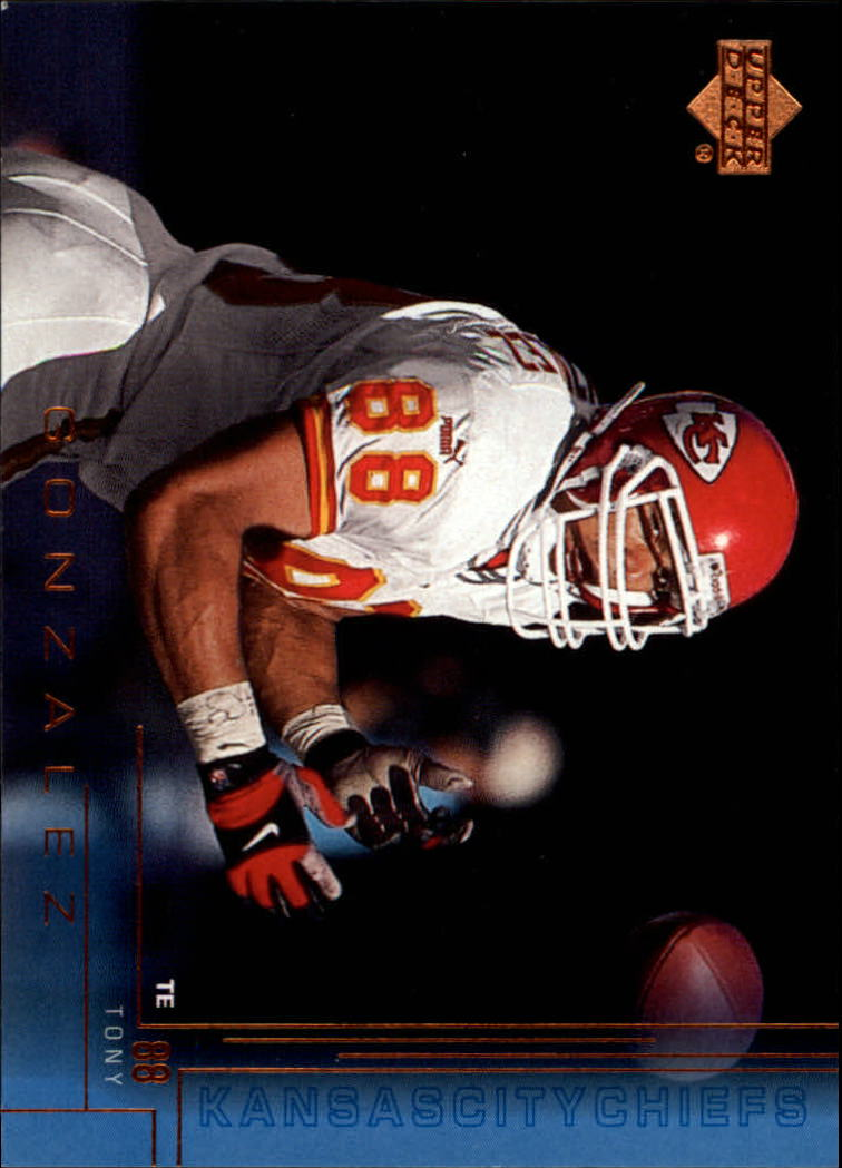 2000 Upper Deck #104 Tony Gonzalez