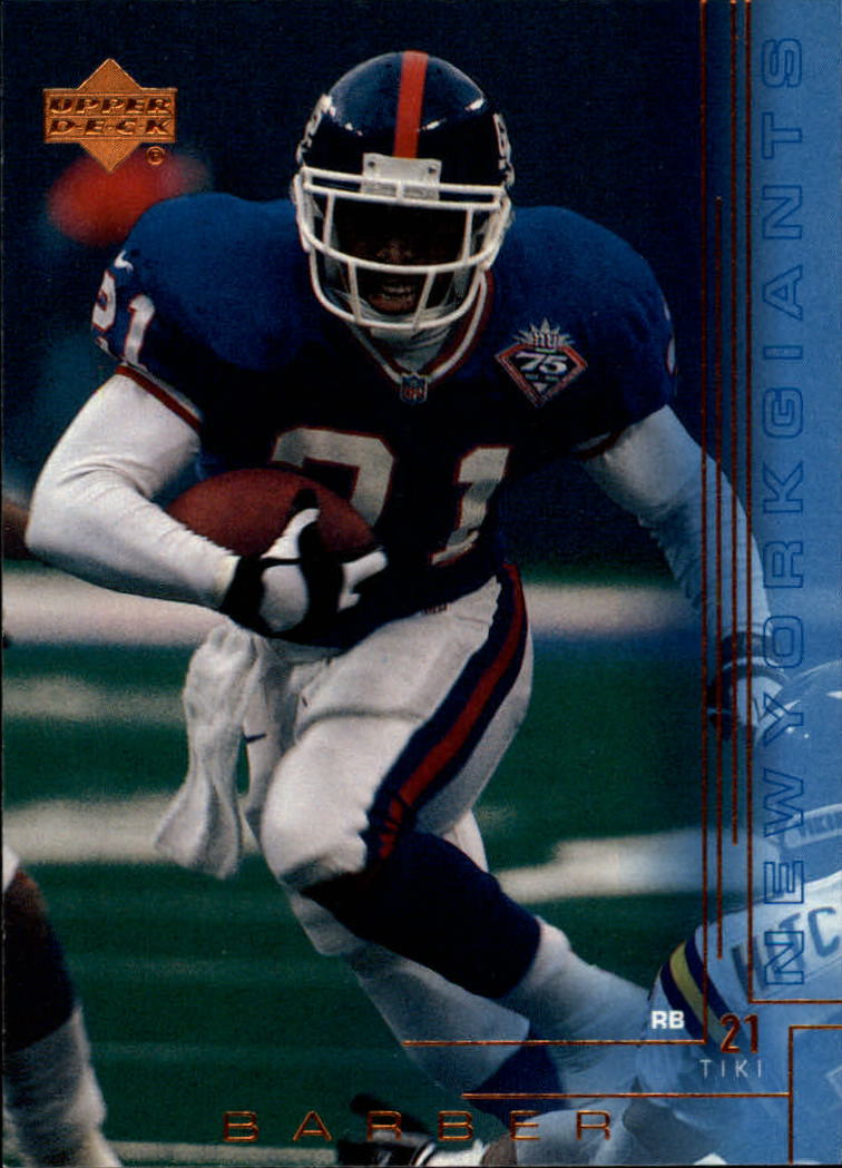 2000 Upper Deck #138 Tiki Barber