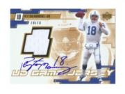 2000 Upper Deck Game Jersey Autographs Gold #PMA Peyton Manning