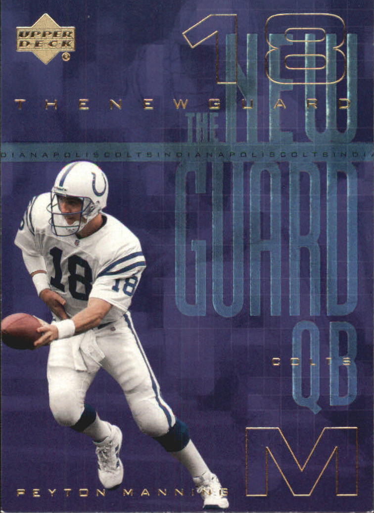 2000 Upper Deck New Guard #NG11 Peyton Manning