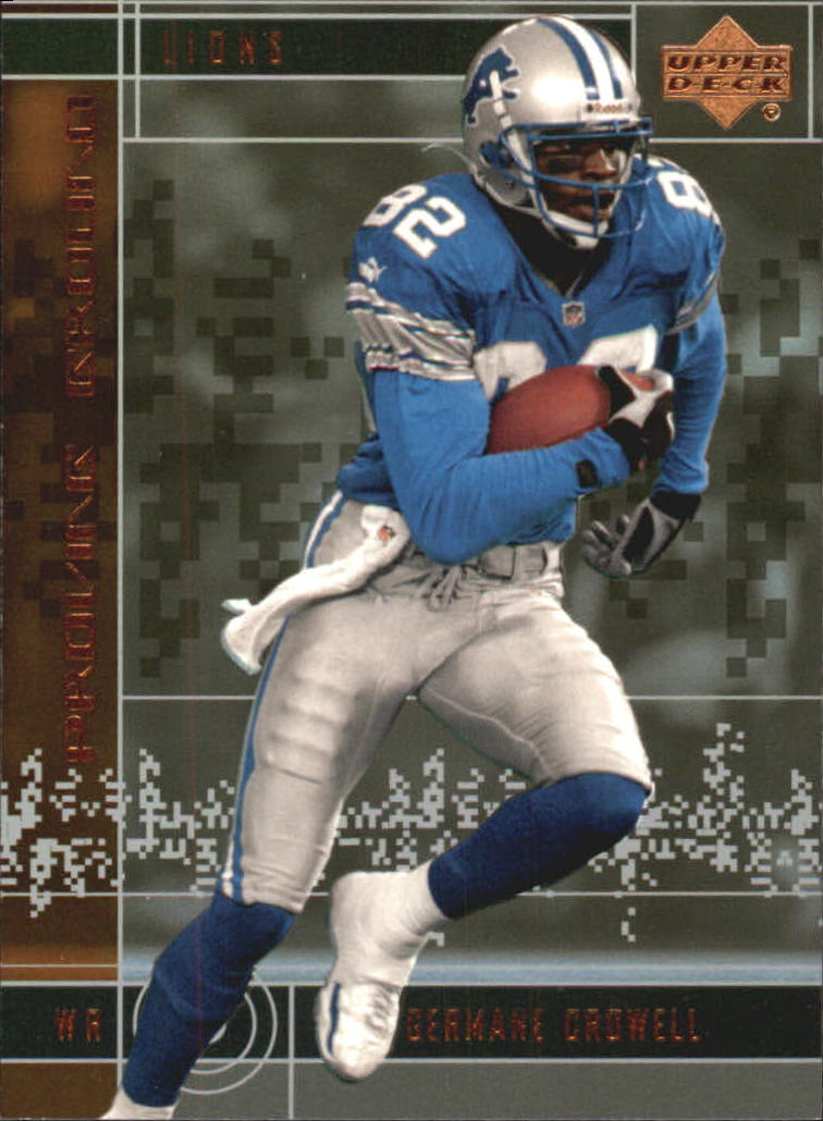 2000 Upper Deck Proving Ground #PG7 Germane Crowell