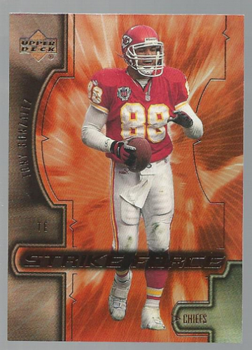 2000 Upper Deck Strike Force #SF3 Tony Gonzalez