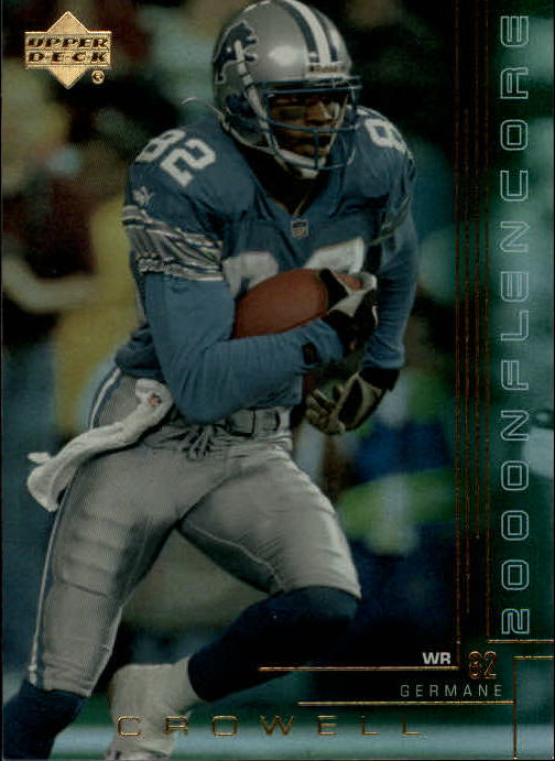 2000 Upper Deck Encore #75 Germane Crowell