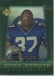 2000 Upper Deck Encore #242 Shaun Alexander RC