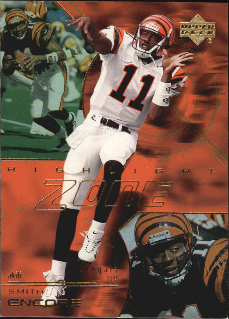 2000 Upper Deck Encore Highlight Zone #HZ9 Akili Smith