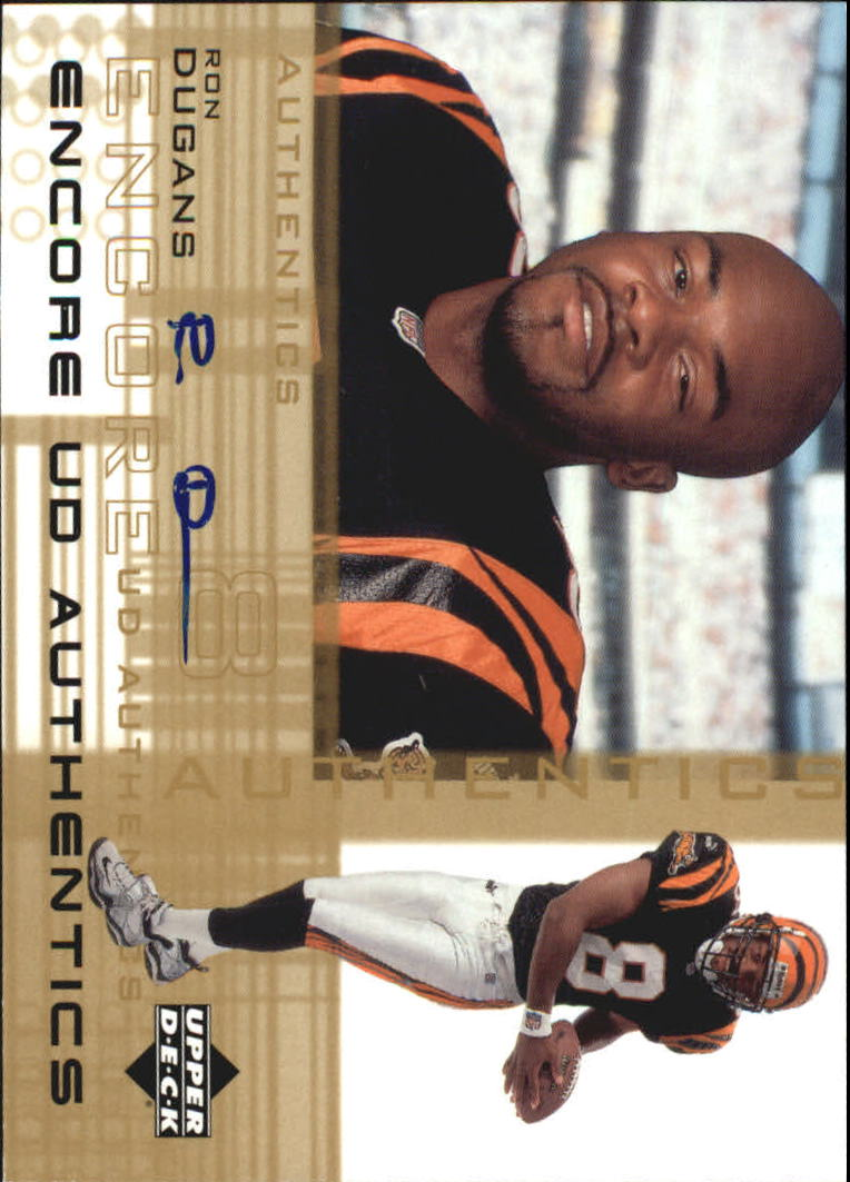 2000 Upper Deck Encore UD Authentics #DU Ron Dugans