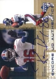 2000 Upper Deck Encore UD Authentics #RD Ron Dayne