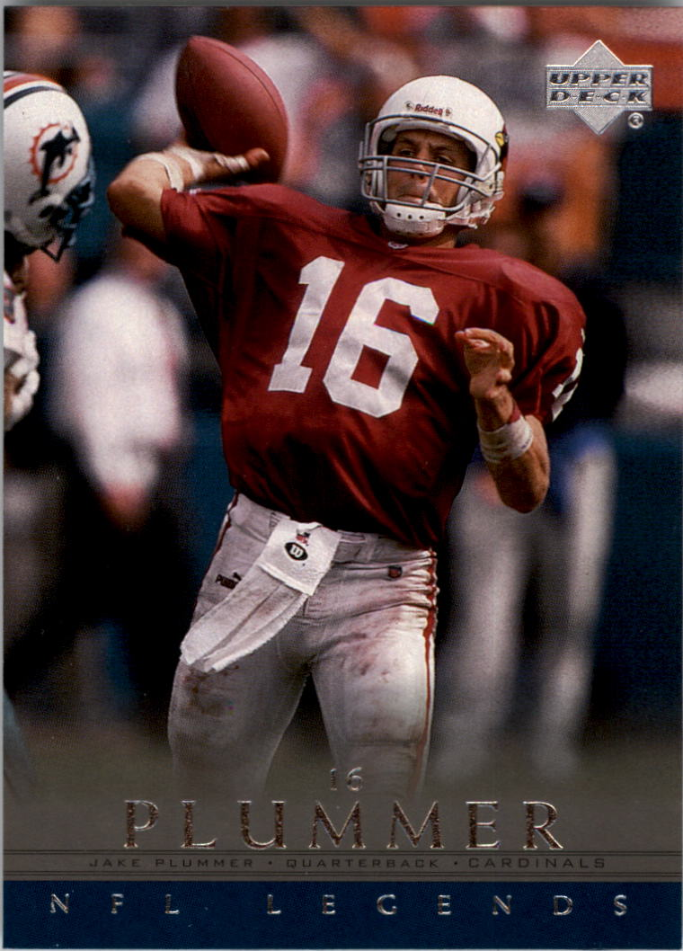 2000 Upper Deck Legends #1 Jake Plummer