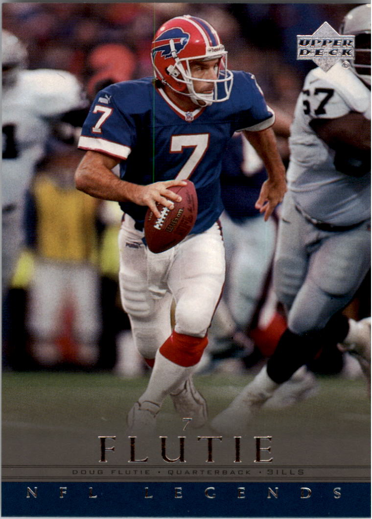 2000 Upper Deck Legends #3 Doug Flutie