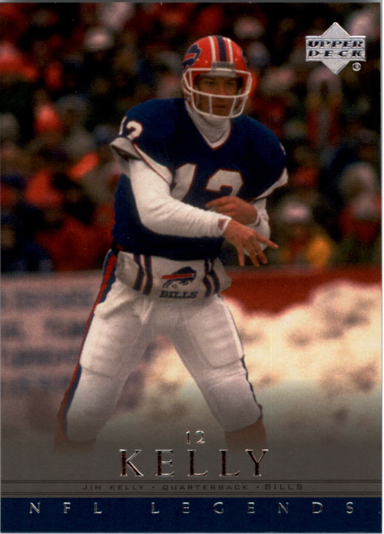 2000 Upper Deck Legends #4 Jim Kelly