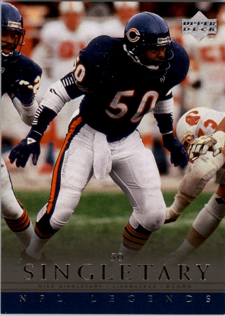 2000 Upper Deck Legends #6 Mike Singletary