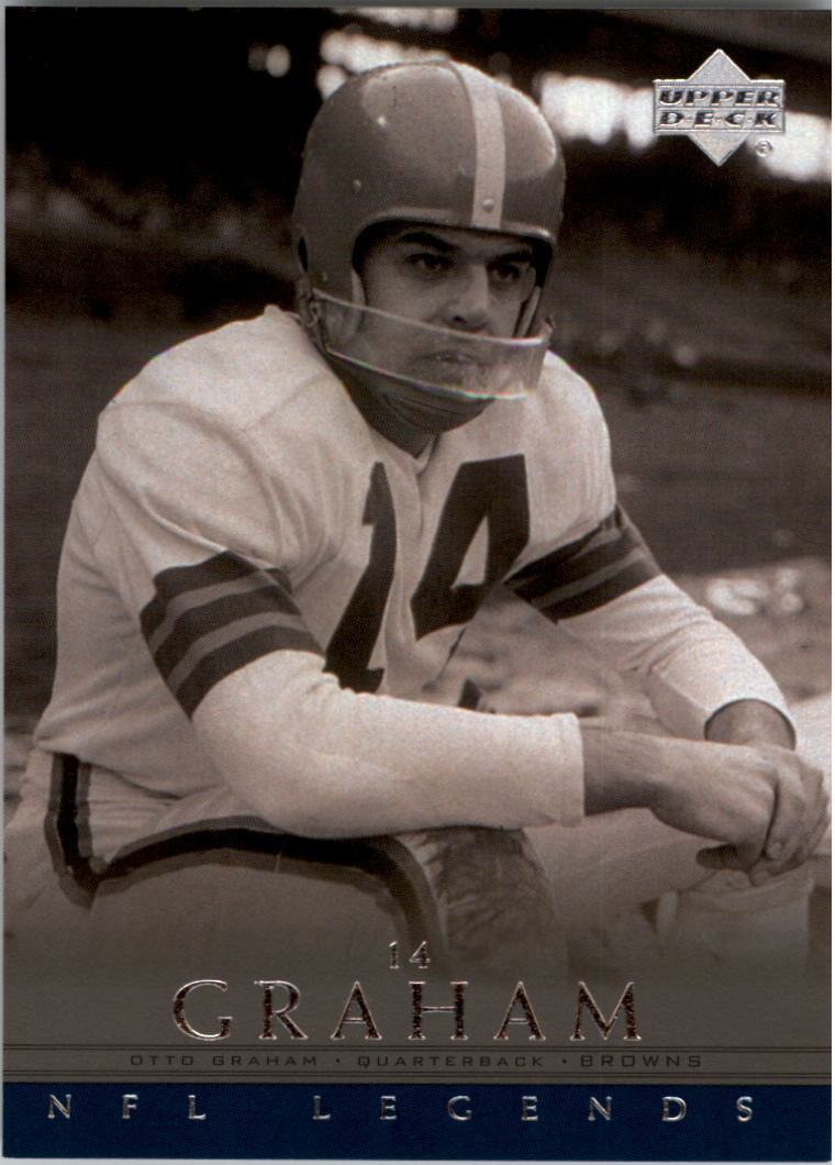 2000 Upper Deck Legends #10 Otto Graham front image
