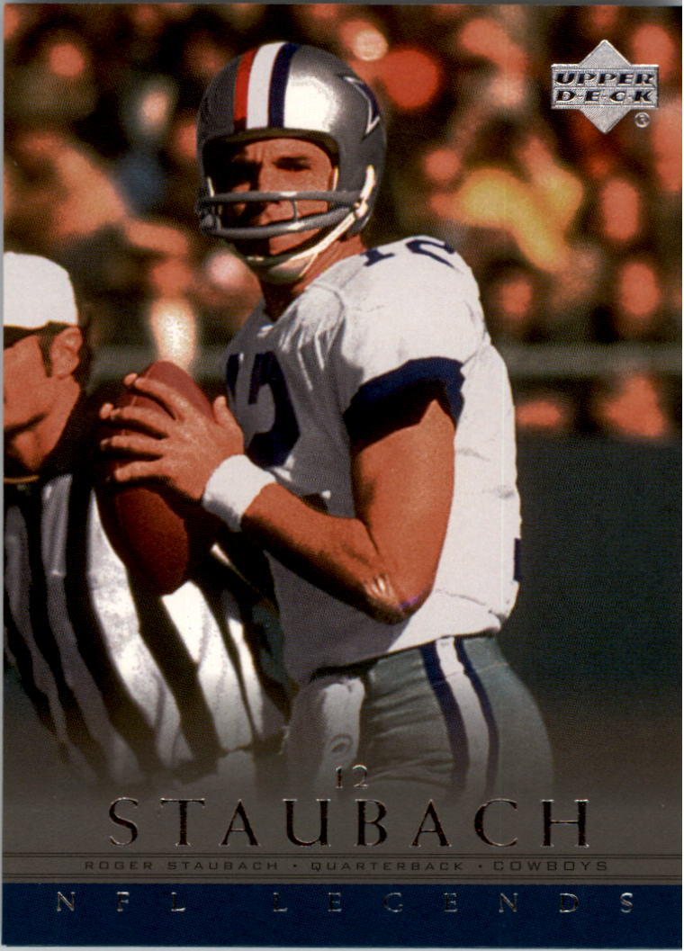 2000 Upper Deck Legends #16 Roger Staubach