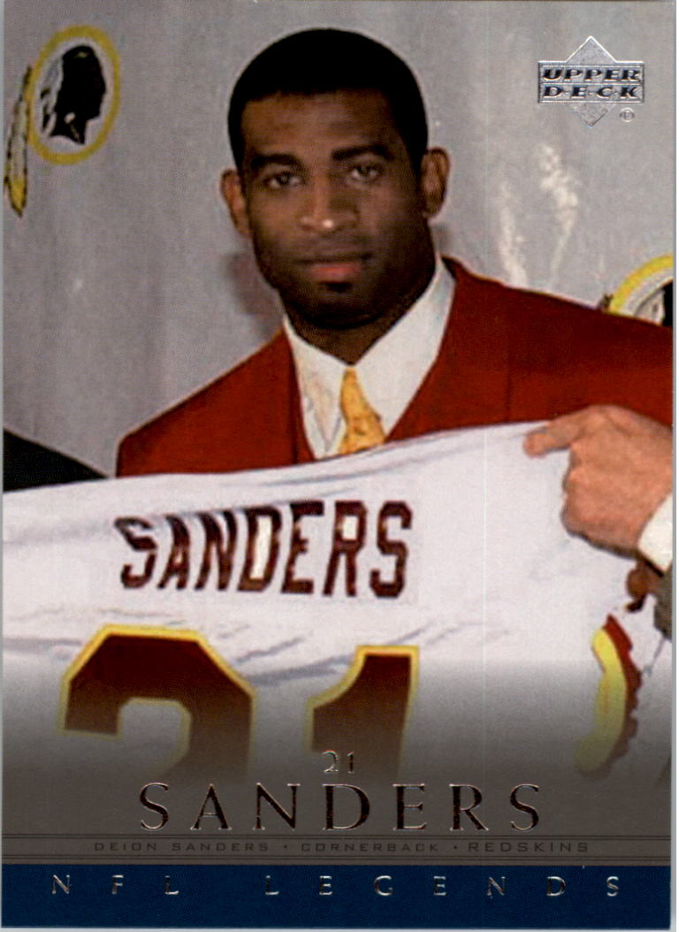 2000 Upper Deck Legends #17 Deion Sanders