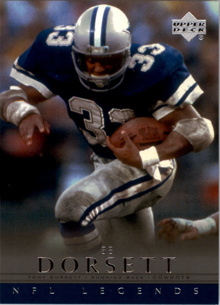 2000 Upper Deck Legends #18 Tony Dorsett