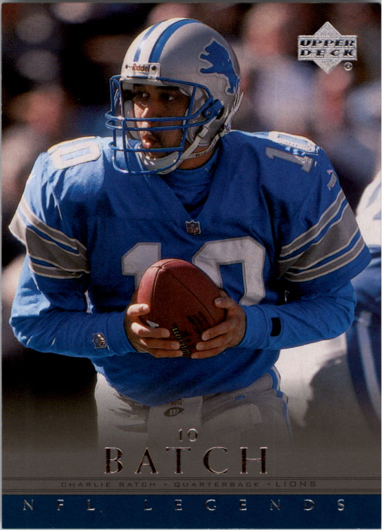 2000 Upper Deck Legends #21 Charlie Batch