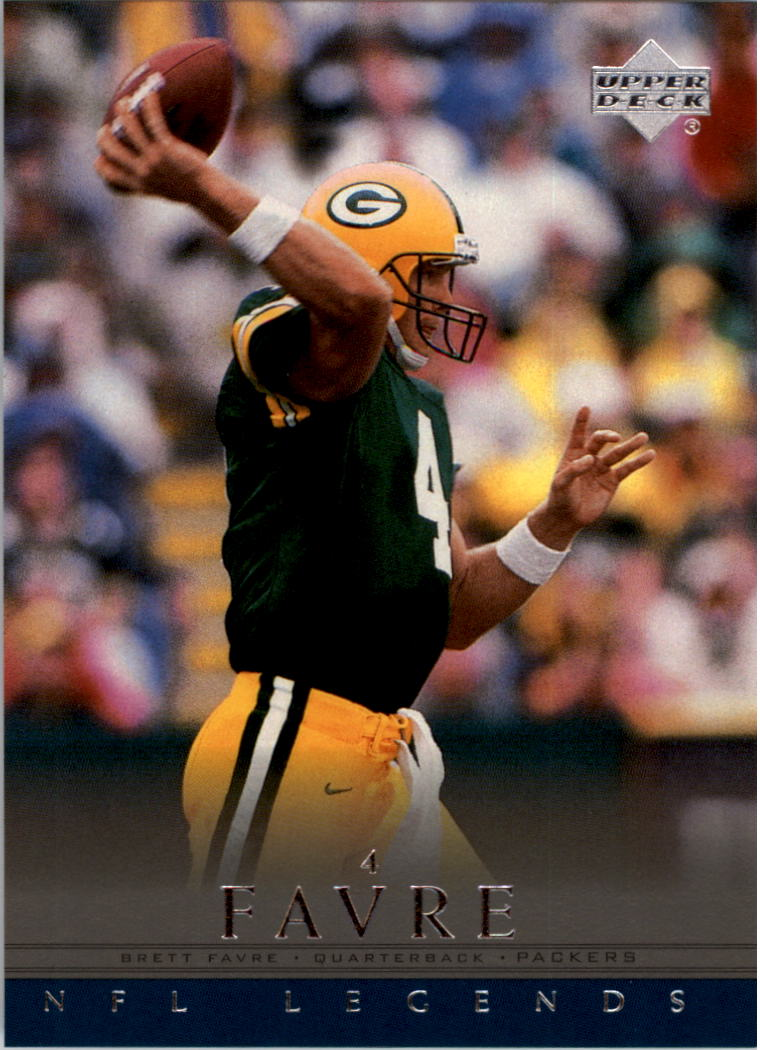 2000 Upper Deck Legends #22 Brett Favre