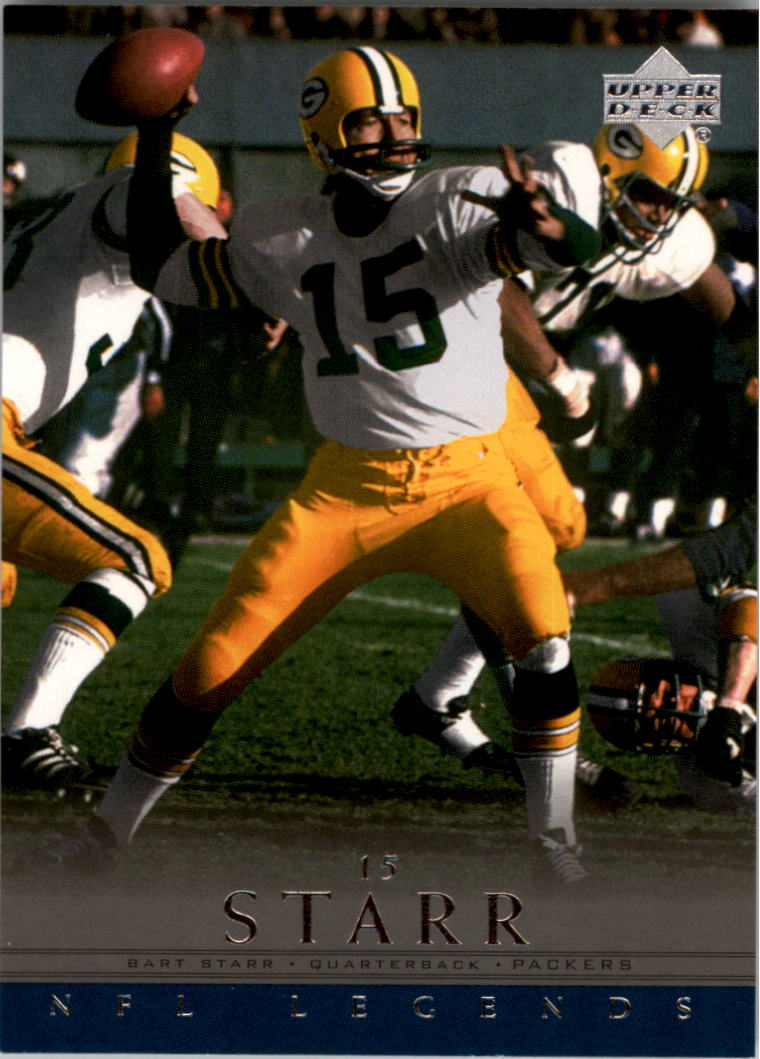 2000 Upper Deck Legends #23 Bart Starr front image