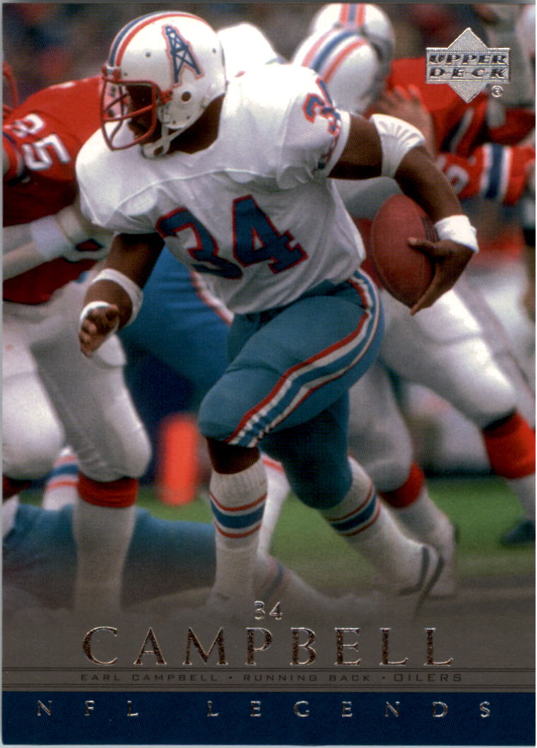 2000 Upper Deck Legends #25 Earl Campbell front image