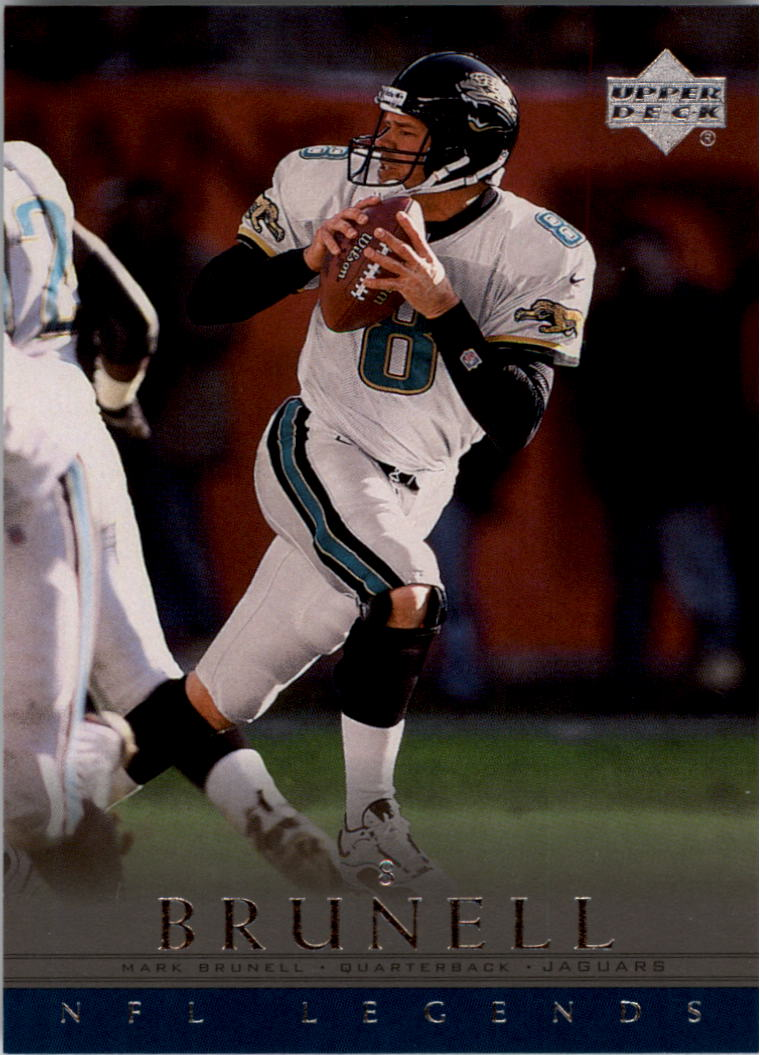 2000 Upper Deck Legends #30 Mark Brunell