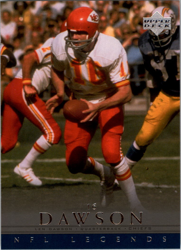 2000 Upper Deck Legends #32 Len Dawson