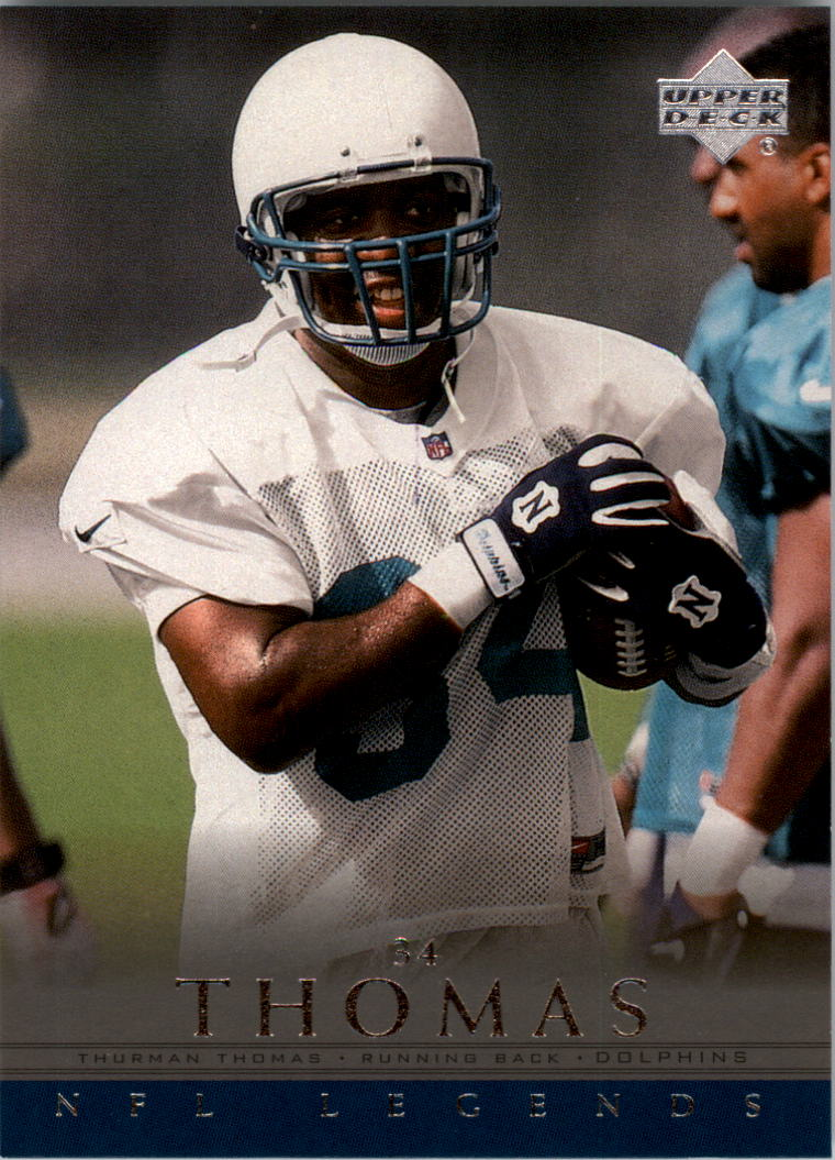 2000 Upper Deck Legends #36 Thurman Thomas