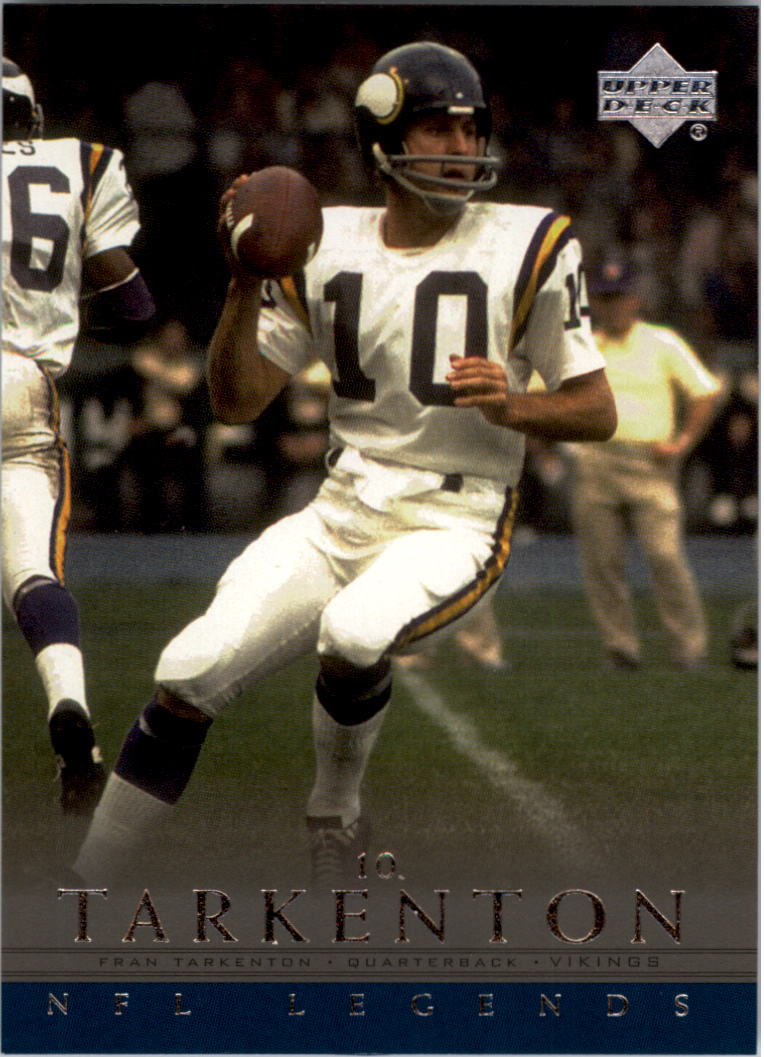 2000 Upper Deck Legends #37 Fran Tarkenton
