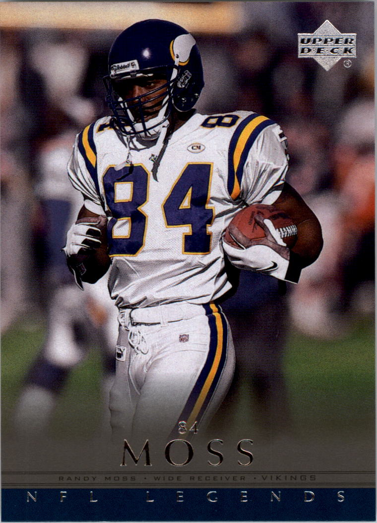 2000 Upper Deck Legends #38 Randy Moss