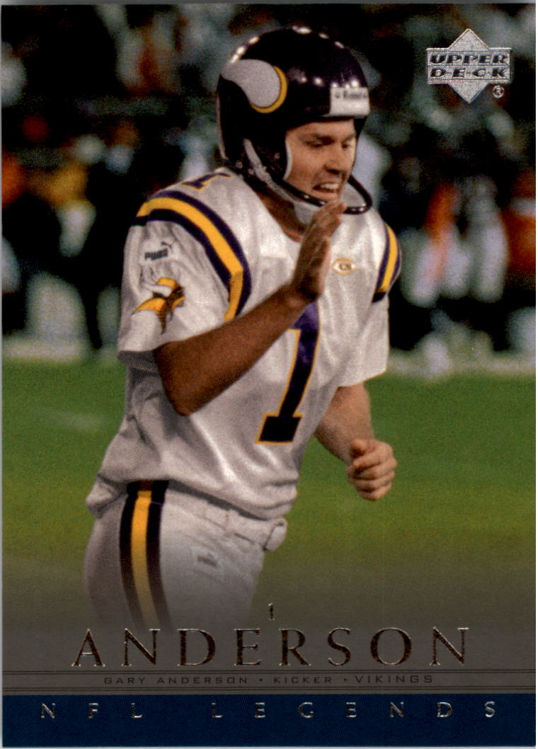 2000 Upper Deck Legends #40 Gary Anderson