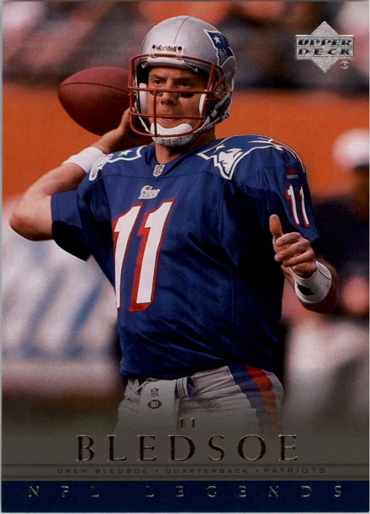 2000 Upper Deck Legends #42 Drew Bledsoe