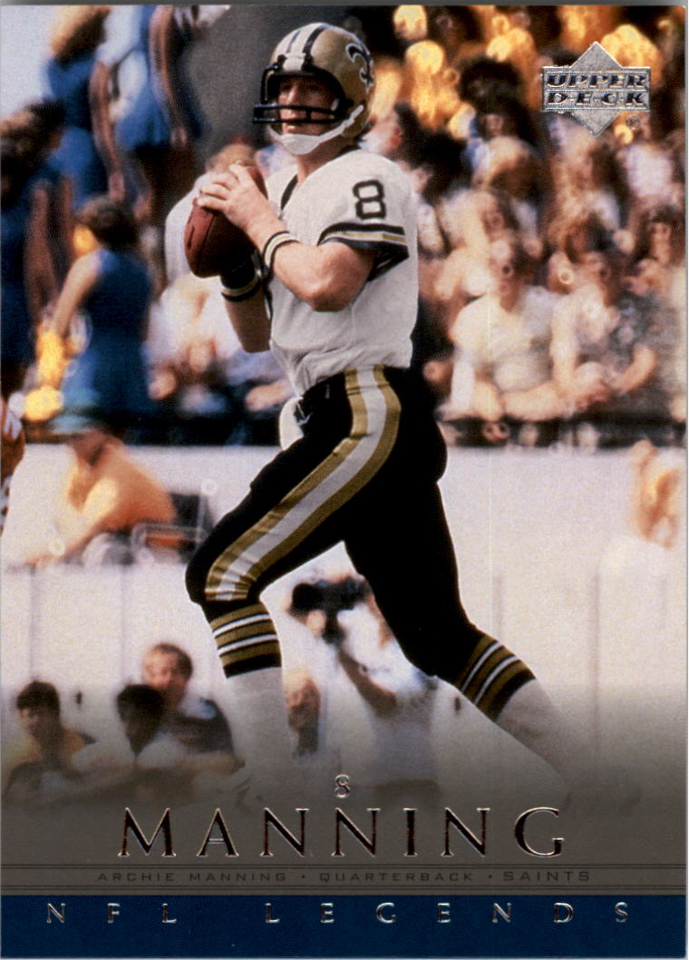 2000 Upper Deck Legends #43 Archie Manning