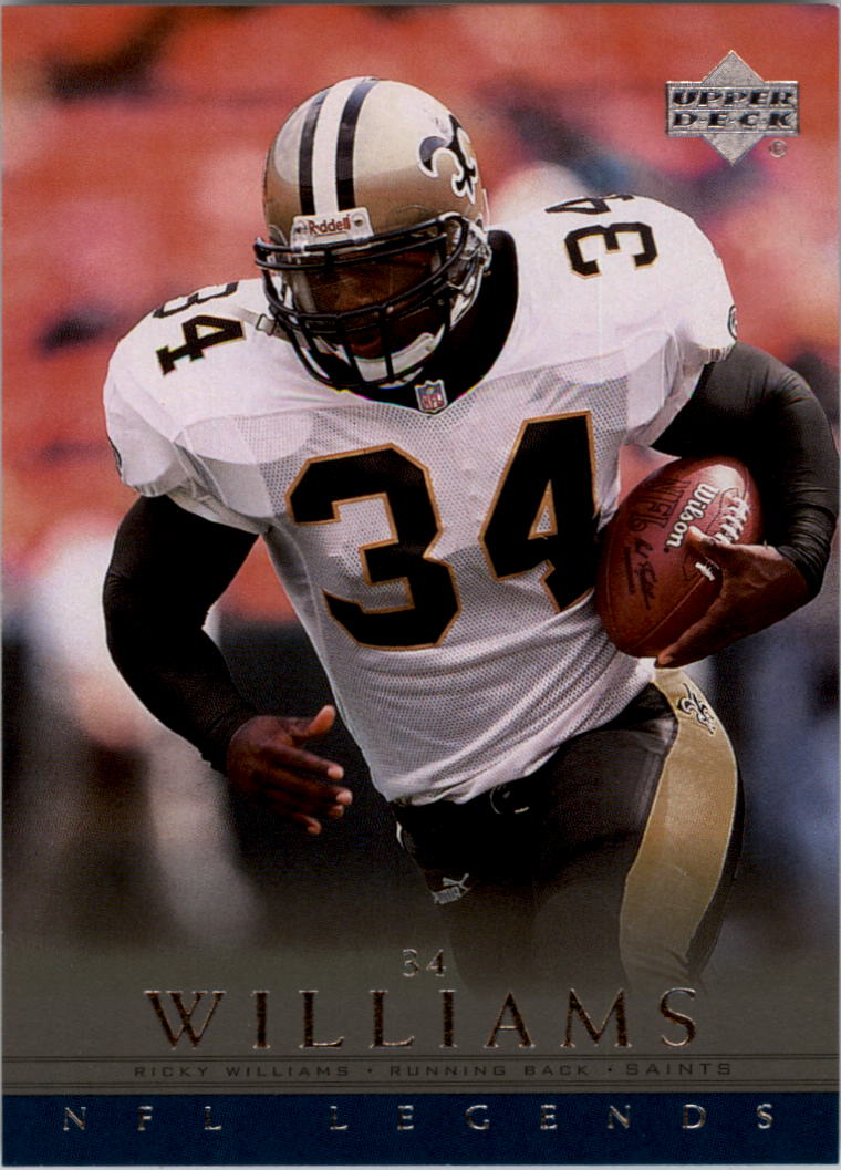 2000 Upper Deck Legends #44 Ricky Williams